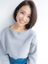 クラス アオヤマ(CLASS AOYAMA)【CLASS AOYAMA】大人可愛いオフィスヘア☆切りっぱなしボブ