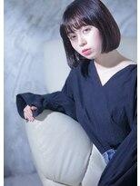 オゥルージュ(Au-rouge noma)【aurouge noma 柳瀬香里】シースルーウェット/質感ボブ