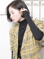 【keep hair design】髪質改善トリートメント×黒髪ボブ