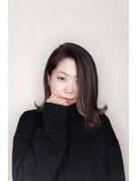 ヘアークリニック ラクシア 石巻(Hair Clinic LAXIA Ishinomaki)外国人風透け感ミディアム
