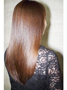 ヘアーメイクアルフレドの写真/髪質改善なら毛髪強度回復140%【TOKIOトリートメント】ダメージ毛/エイジレス毛にツヤ&輝きを♪【南大沢】