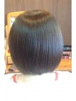 アンティース3 ヘアプロフェション(ANTIS3 HAIR PROFESSION)髪を伸ばしながらお手入れ楽チン切りっぱなしボブ