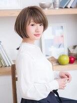 オーブ ヘアー アクネ 長岡京店(AUBE HAIR acne)ふんわり♪ショートボブ