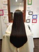 ヘア デザイン クリニック アンテナ(hair design clinic ANTENNA)毛先まで潤いサラサラロング
