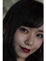 バルベストーキョー(BARBES TOKYO)【BARBES 土屋諒将】暗髪ナチュラルロングヘア3