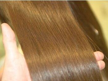 ノーブル ヘア ガーデン(Noble hair garden)の写真/圧倒的支持をもつハホニコ全種類取扱い店★しっとり,サラサラ,ふんわりの3つから選べる厳選トリートメント