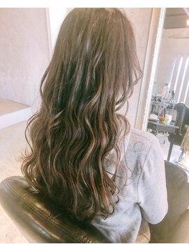 ヘアー アトリエ エゴン(hair atelier EGON)ロング波ウェーブ