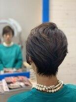 スローライフヘアーデザインアンドスパラウンジ(Slow life Hair design spa lounge)メリハリショート