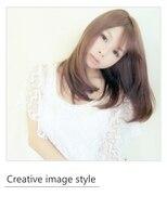 【Creative image styel】髪年齢が若く見えるつやレイヤーロング