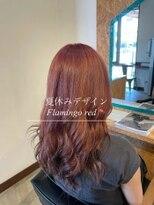 ダブルケーツー 倉敷店(wk-two)☆初ブリーチ flamingo pink☆