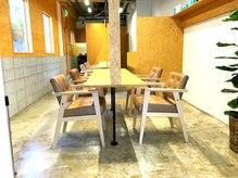 ヘアーローラン 藤沢(hair LORAN fujisawa)の雰囲気(7席だけの落ちついた空間。長い時間座る椅子も疲れない♪と評判)