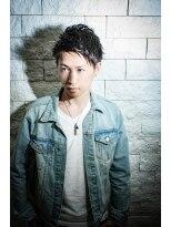 【ALTI】メンズアップバングショート