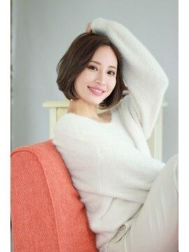 ヘアー ロギア(hair LOGiA)★hair LOGiA★ 〇大人かわいいナチュラルショート ワンカール