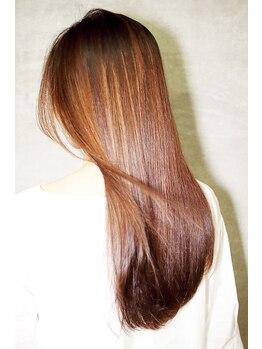 ヘアーメイクアルフレドの写真/話題の髪質改善ヘアエステ取扱い☆特化したヘアケア術で思わず触れたくなる‥綺麗な髪へ導きます【南大沢】