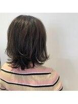 ネオヘアー 曳舟店(NEO Hair)外ハネレイヤー×カーキベージュ