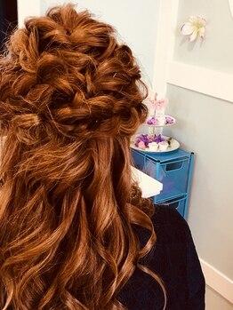 ラプンツェル(Rapunzel)の写真/女子会・デートなどのイベントはプロの技で、流行のニュアンスアレンジが◎崩れにくいから一日安心♪