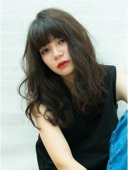 ヘアーメイク リアン 新田辺店(Hair Make REAN)の写真/【カット+ゆるふわデジパ¥9900】ナチュラルカールで柔らかな雰囲気を表現してコテいらずのスタイルに♪