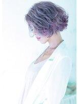 オゥルージュ(Au-rouge noma)【aurouge noma 石井美紗紀】デザインカラー gray×purple
