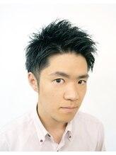 ヘアーデザイン ソレイユ 久米川店(Hair Design SOLEIL)2ブロックショートアップバング