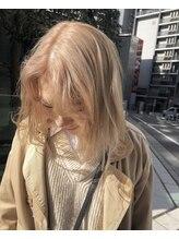ガラ(GALA)clear blond