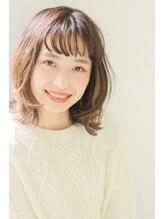 アペン ツー 美容室 金町(APEN two)伸ばしかけに☆くせ毛風ミディアム【APEN金町】Style Collection