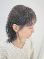 ローグヘアー 板橋AEON店(Rogue HAIR)【 こなれ感♪ 】外ハネミディなカーキアッシュスタイル