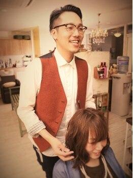 シュシュ ヘアーメイク(chou chou HAIR MAKE)の写真/あなたのライフスタイルに合わせて、ヘアスタイルを提案してくれるサロン【chou chou HAIR MAKE】☆