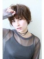 モード ケイズ 塚本店(MODE K's)レザーマッシュウル黒髪から明るいまで対応 厚めバングショート