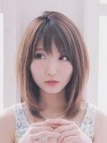 【LILA HAIR】ピュアなやわらかストレート