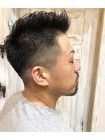 ヘアーサロンモンマ(MONMA)men'sカット+ニュアンスパーマ