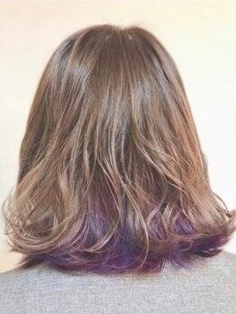 ヘアレスキュー クルアルガの写真/生酵素/オーガニック/透明感カラーなど豊富に取扱い♪新世代の髪質改善カラーでうるツヤ美髪を手に入れて◎