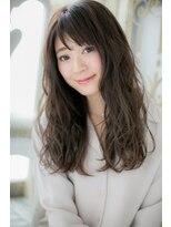 モッズ ヘア 福岡姪浜店(mod's hair)モーブカラーの小顔グラマラスロング