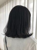 ビーヘアサロン(Beee hair salon)ブルーシルバーハイライト