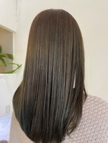 ラヴィールアーム(Ravir ame)【オリーブ系カラー】髪質改善トリートメント