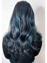 ソース ヘア アトリエ 京橋(Source hair atelier)【SOURCE】3Dターコイズブルー