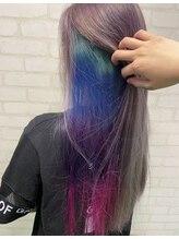 エスブランドワールドワイド(S BRAND world wide)太めな虹カラー