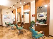 美容室セ ランコントレの雰囲気(広々とした空間を独り占めできます♪)
