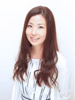 カラ(cara)の写真/カラーバリエーションが豊富!!髪に優しい施術で思い通りの色味や明るさも実現♪うる艶髪で手触りも◎