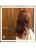 ルパラディ(leparadis)【赤髪波ウェーブ】
