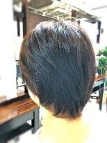 【CAN】大人女子に大人気!クセ毛を活かしたマッシュショート