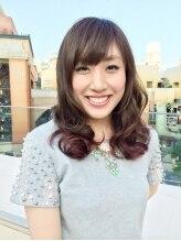 ジールヘアー(zeal hair)Modest violet gradient