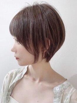 チャーム(CHARM)の写真/大人女性人気のハンサムショートヘアや丸みのあるボブスタイルは「CHARM」にお任せ!
