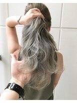 バンクスヘアー(BANK'S HAIR)White beige