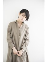 黒髪×ピュアショート