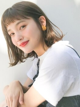 アンアミ キチジョウジ(Un ami Kichijoji)の写真/暗めでも透明感がでる奇跡のアッシュブレンドで大人可愛く。モチの良い艶カラーに。