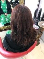 ヘアーメイク カリユ(HAIR MAKE kariyu)ヴァイオレットピンクアッシュカラー