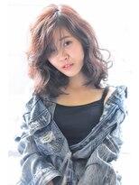 ヘアーサロン エール 原宿(hair salon ailes)(ailes原宿)style273 デザインカラー☆カーリーロブ