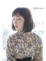 サンク ドリームプラザ店(CINQ)【CINQ】大柳 お手入れ簡単ナチュラルボブ