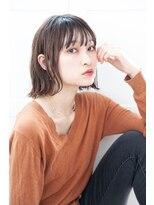 リル ヘアーデザイン(Rire hair design)【Rire-リル銀座-】外ハネおしゃれボブ