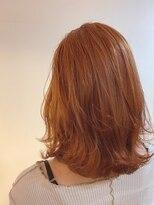 クラウドヘアー 東照宮店オレンジカラー
